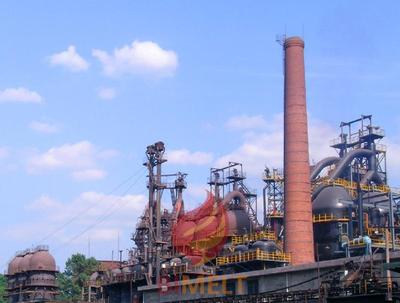 Blast furnace for nickel pig iron smelting