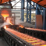 Pig iron casting machine